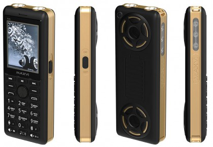 Maxvi P20 Black/Gold
