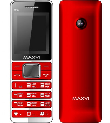 Maxvi M10 DS Red