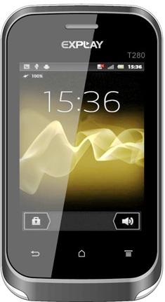 Explay T280 Grey (3 sim). Декалайн - продажа сотовых телефонов оптом ... 9c0234624bf